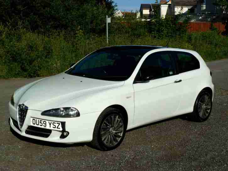 alfa romeo 147 white - photo #5
