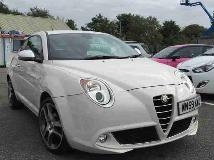 alfa romeo 2009 mito 1 4 16v lusso 3dr car for sale. Black Bedroom Furniture Sets. Home Design Ideas
