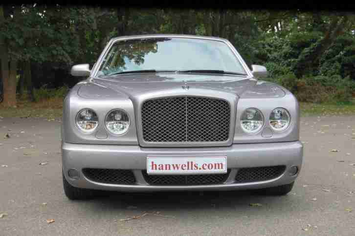 2009/59 Bentley Arnage T Mulliner in Silver Tempest