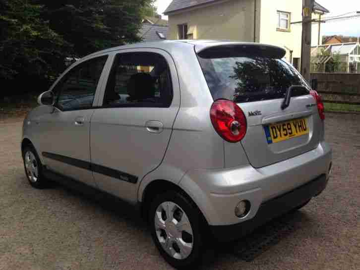 2009 59 CHEVROLET MATIZ 1.0 SE PLUS 5 DOOR HATCH 48,000 MILES FSH ONLY 3 OWNERS.