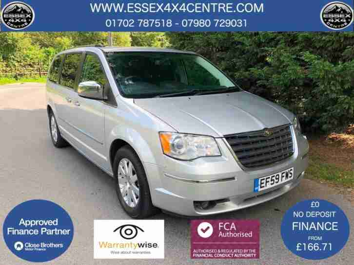 2009 (59) CHRYSLER GRAND VOYAGER 2.8 CRD LTD AUTOMATIC 7 SEATER 85,888 MILES