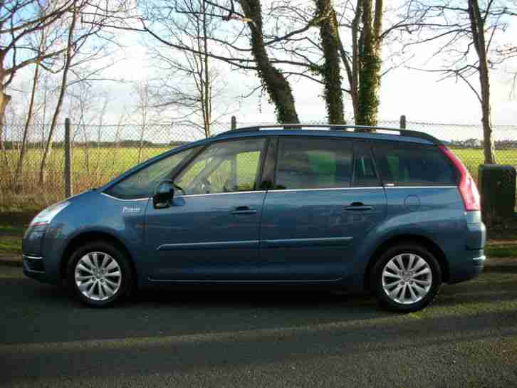 citroen 2009 59 grand c4 picasso 1 6hdi 16v egs exclusive 7 seat car for sale. Black Bedroom Furniture Sets. Home Design Ideas