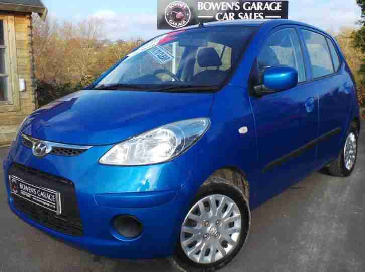 2009 59 HYUNDAI I10 1.1 ES 5D LOW MILES £30 TAX FULL S HISTORY AIR CON