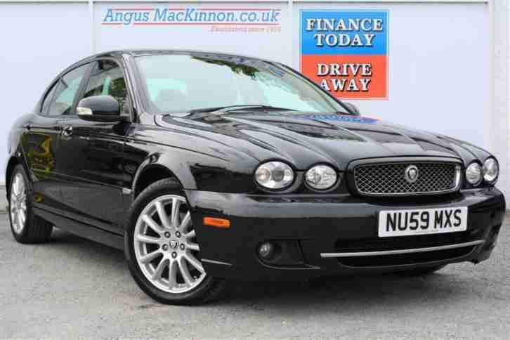 2009 59 JAGUAR X TYPE 2.2 4D SALOON IN AMAZING CONDITION AND A CLASSIC COLOUR CO