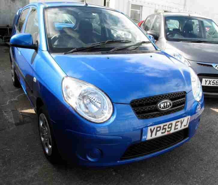 2009 59 Kia Picanto 1.1 Strike 5 Door (Special Edt) £30 Road Tax 1FK 5 Stamps