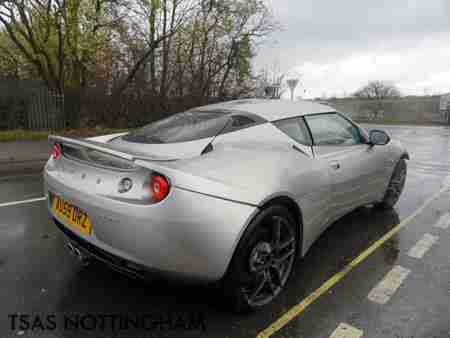 2009 59 Lotus Evora 2+2 3.5 VVT i 276 Bhp Damaged Salvage