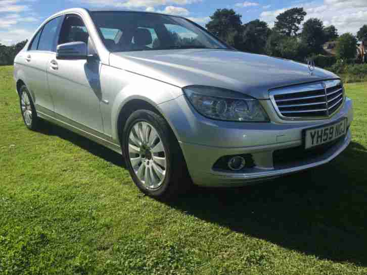 2009 59 MERCEDES BENZ C220 BLUEF Y ELEGANCE