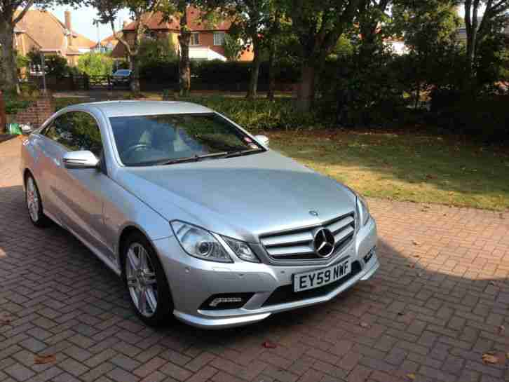 2009 (59) MERCEDES-BENZ E350 CDI COUPE AMG SPORT * TOP SPEC* LOW MILEAGE