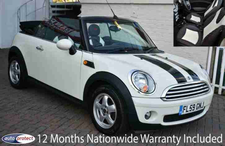2009 59 CONVERTIBLE 1.6I COOPER 6 SPEED