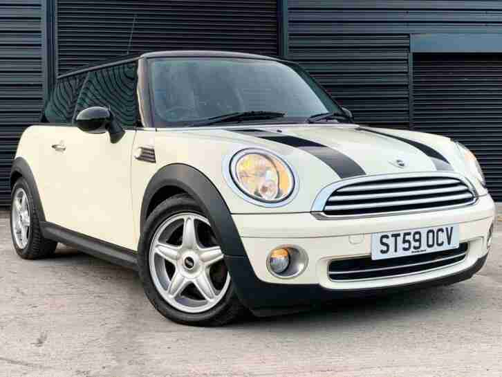2009 59 MINI HATCH COOPER 1.6 COOPER 3D AUTO 118 BHP