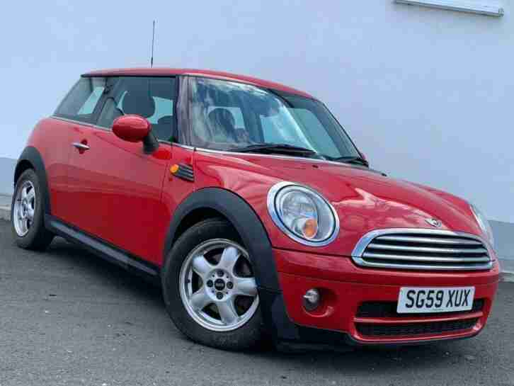 2009 59 MINI HATCH COOPER 1.6 COOPER D HATCHBACK 3DR DIESEL MANUAL (104 G KM, 11