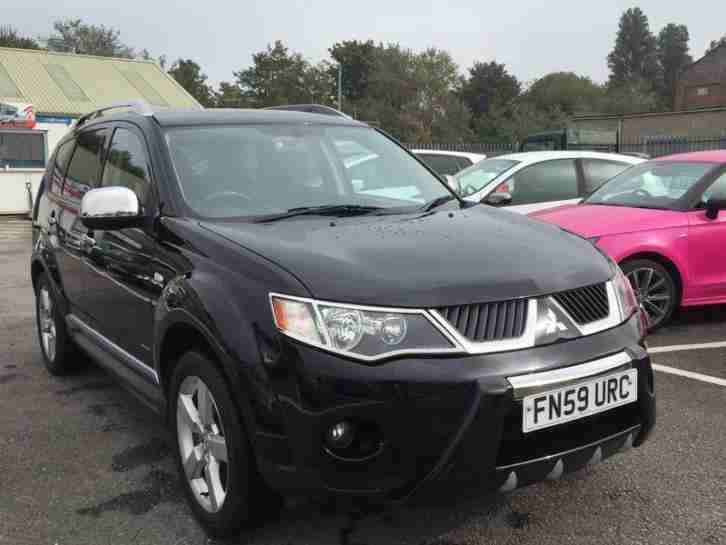 2009 59 MITSUBISHI OUTLANDER INTENSE WARRIOR H-LINE DI-D 7 SEATER - PX/FINANCE P