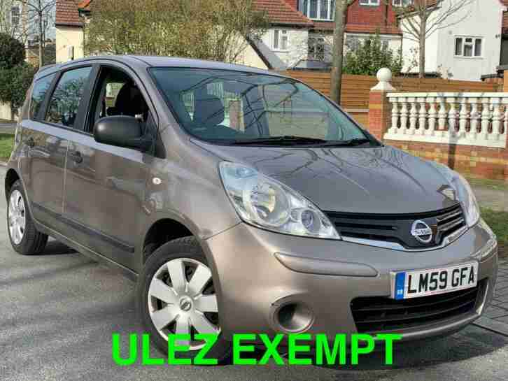 2009 59 REG NOTE 1.4 VISIA NO ULEZ +