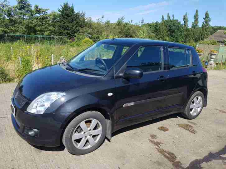 2009, 59 REG SWIFT GLX, LIGHT DAMAGED