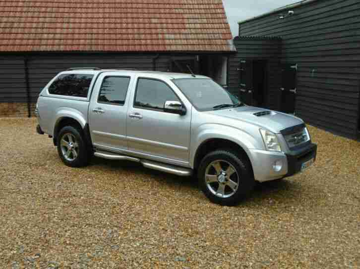 2009 59 Reg ISUZU TF RODEO DENVER MAX D C AUTO ( NO VAT )