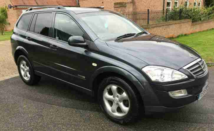 2009 (59) SSANGYONG KYRON 2.0 EX DIESEL 4X4 FULL MOT RUNS DRIVES GREAT! LEATHER