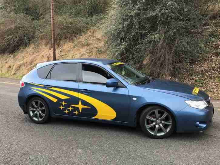 2009 59 SUBARU IMPREZA R BLUE 1.5 WRX STI REPLICA MODIFIED CHEAP INSURANCE PX
