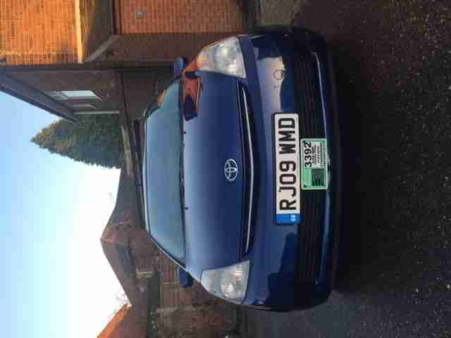 2009 59 TOYOTA PRIUS T3 VVT I AUTO BLUE 1.5 HYBRID EXCELLENT RUNNER NO RESERVE