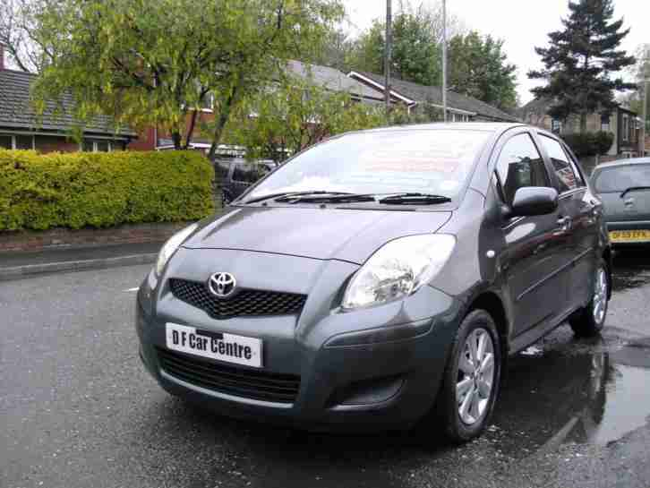toyota 2009 59 yaris tr 1 3 vvti 5dr only 35 000 miles full history. Black Bedroom Furniture Sets. Home Design Ideas