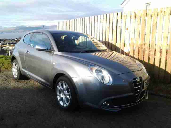alfa romeo 2009 mito lusso t 120 grey car for sale. Black Bedroom Furniture Sets. Home Design Ideas