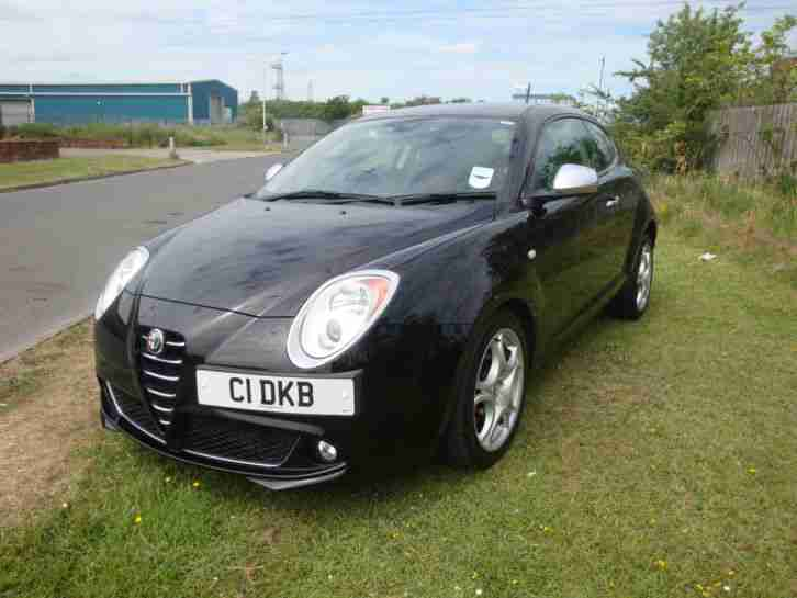 alfa romeo 2009 mito veloce t 120 black car for sale. Black Bedroom Furniture Sets. Home Design Ideas