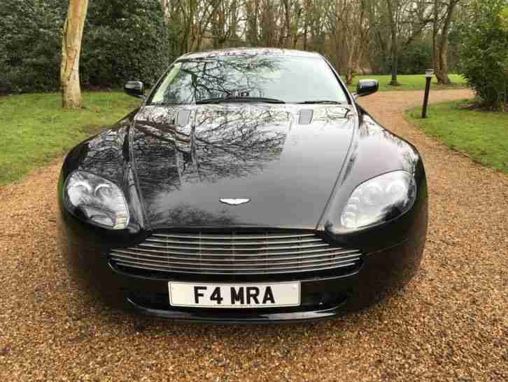 2009 ASTON MARTIN VANTAGE 4.3 V8 BLACK/BLACK/CREAM 26,000 MILES FROM NEW FAMSH