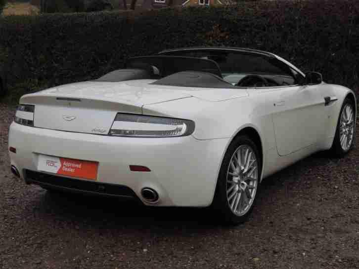 aston martin 2009 vantage 4 7 v8 roadster sportshift convertible car for sale. Black Bedroom Furniture Sets. Home Design Ideas