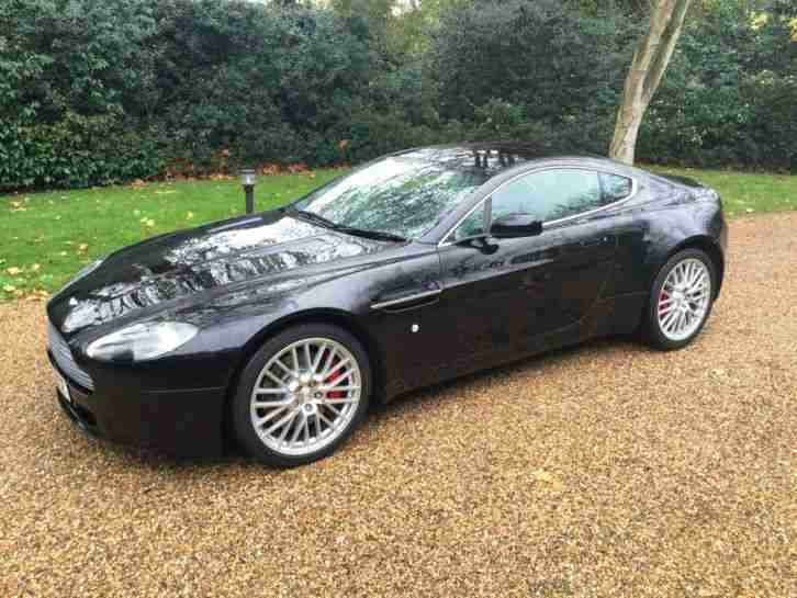 2009 ASTON MARTIN VANTAGE 470 V8 VANTAGE IN BLACK/BLACK LEATHER 31K MILES FAMSH
