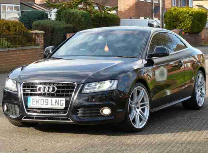 Audi A5 S LINE TDI QUATTRO DPF AUTO HUGE SPEC VERY RARE S LINE