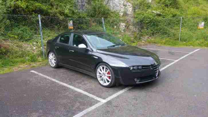2009 alfa 159 ti 3 2 v6 jts rare black and perfect car for sale. Black Bedroom Furniture Sets. Home Design Ideas