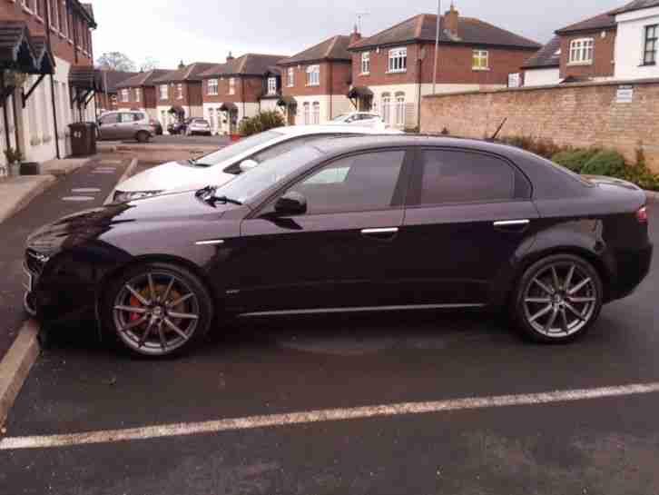 2009 Alfa Romeo 159 Limited Edition with only 35,000 miles
