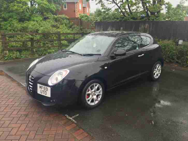 alfa romeo 2009 mito 1 4 tb lusso 3dr 120 bhp damaged salbage fully. Black Bedroom Furniture Sets. Home Design Ideas