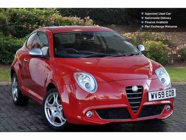 alfa romeo 2009 mito 1 6 jtdm veloce 3dr diesel hatchback car for sale. Black Bedroom Furniture Sets. Home Design Ideas