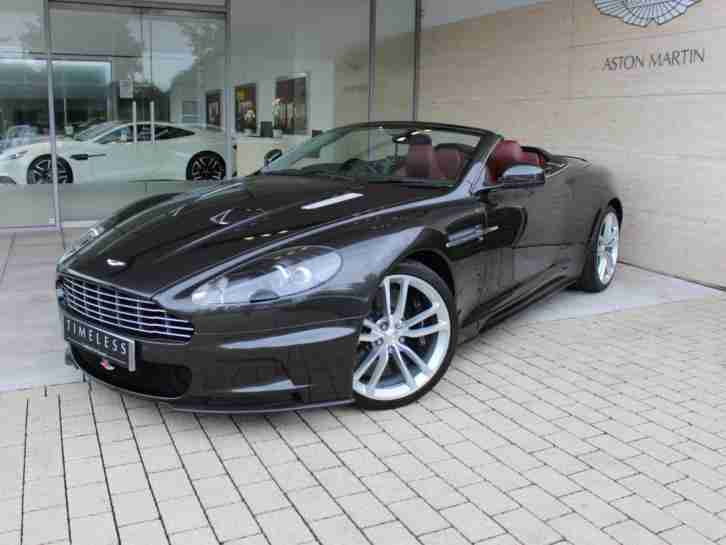 Aston Martin 2009 Dbs Petrol Grey Automatic Car For Sale