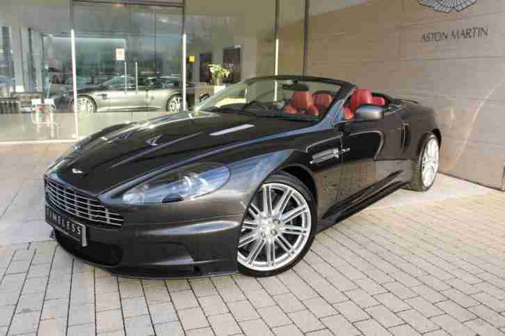 aston martin 2009 dbs v12 volante petrol silver automatic car for sale. Black Bedroom Furniture Sets. Home Design Ideas