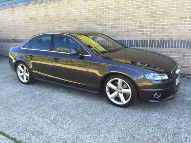 2009 A4 2.0 TDI S Line 4dr