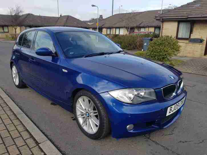 BMW 118d. BMW car from United Kingdom