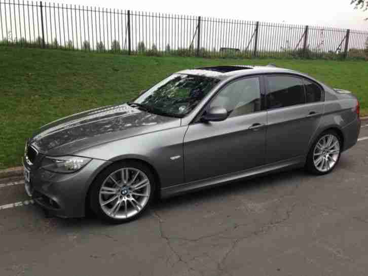 Bmw Silver 06 320i M Sport 4 Door Excellent Condition Hpi