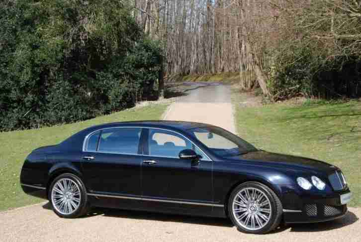 2009 Bentley Continental Flying Spur Speed HIGH SPEC Automatic Saloon
