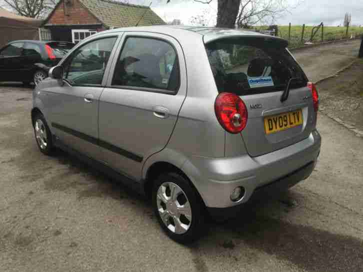2009 chevrolet matiz se plus silver low miles nice economical car. Black Bedroom Furniture Sets. Home Design Ideas