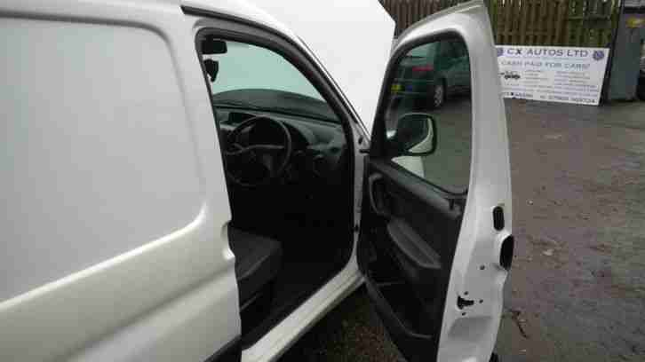 2009 CITROEN BERLINGO FIRST 600 HDI WHITE