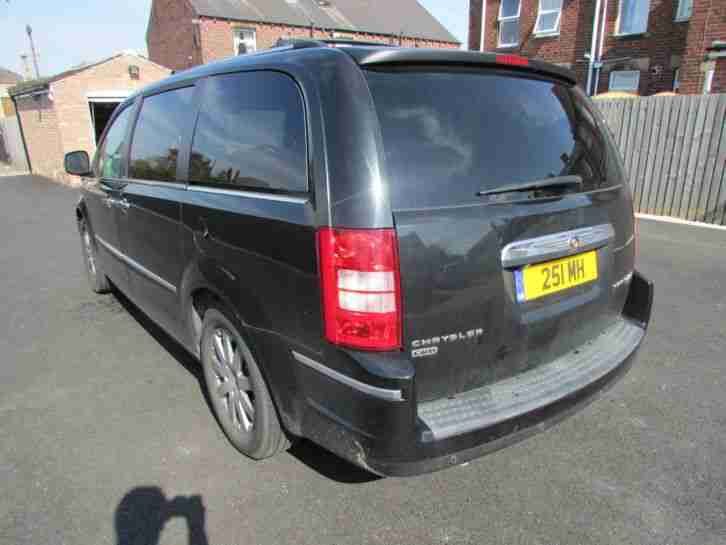 2009 Chrysler Grand Voyager Limited Diesel Auto DVD Massive Spec Low Miles