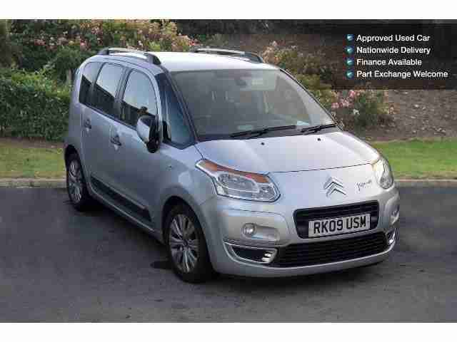 citroen 2009 c3 picasso 1 6 hdi 16v exclusive 110 5dr diesel estate. Black Bedroom Furniture Sets. Home Design Ideas