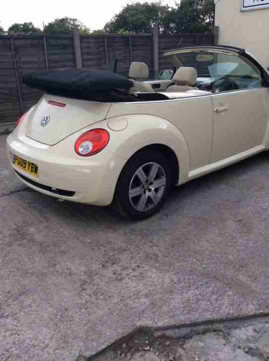 2009 Damaged Repairable 1.6 VW Beetle Convertible Cabriolet