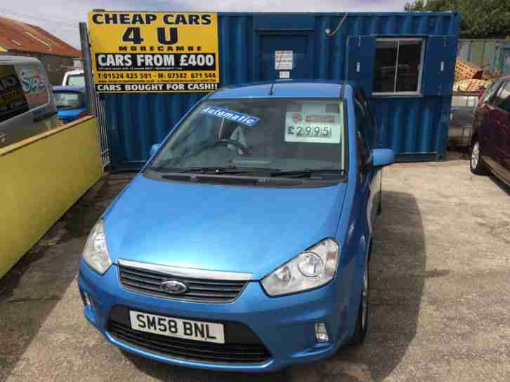 2009 C MAX ZETEC AUTO BLUE MINIMUM £500