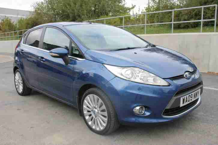 2009 FORD FIESTA TITANIUM, VERY LOW MILES,FSH, 3M WARRANTY