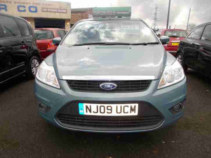 2009 FORD FOCUS 1.6CC 79K MILES PETROL BLUE