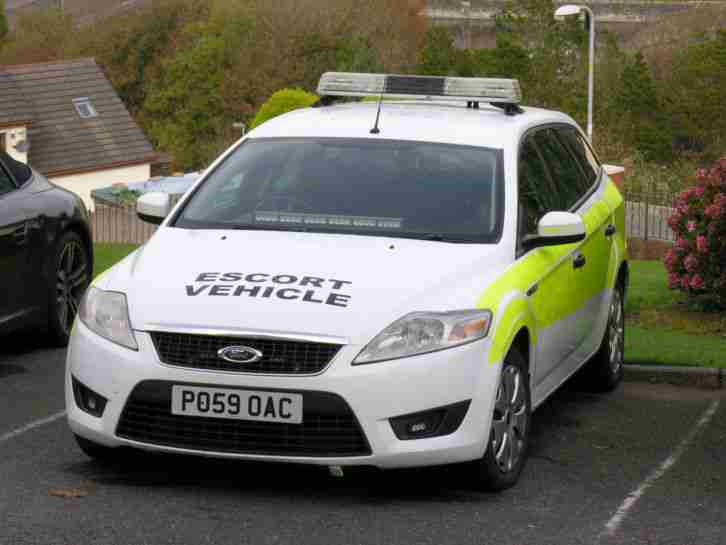 2009 MONDEO ESTATE EX POLICE ESCORT WIDE