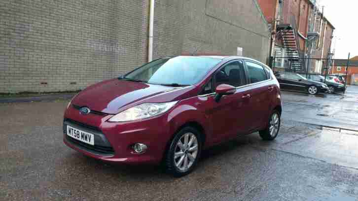 2009 Ford Fiesta 1.25 ( 82ps ) Zetec 5 door hatchback