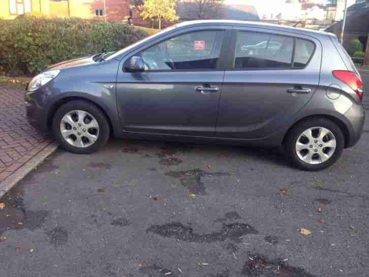 2009 HYUNDAI I20 COMFORT GREY 5 door hatchback